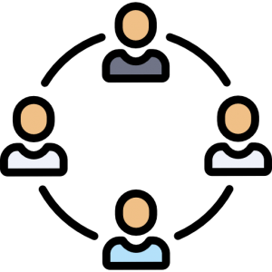 People Networking Icon